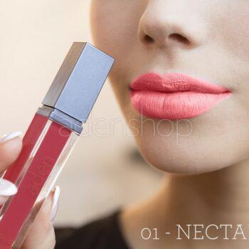 aden ruj lichid 01 nectarine