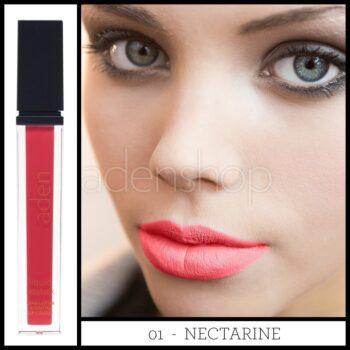 aden ruj lichid 01 nectarine 2nd