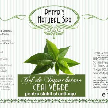 impachetare gel anti celulita cu ceai verde si alge marine 2000ml 2nd