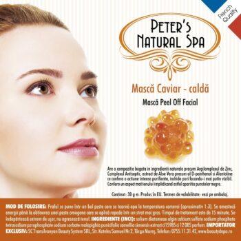 masca caviar calda