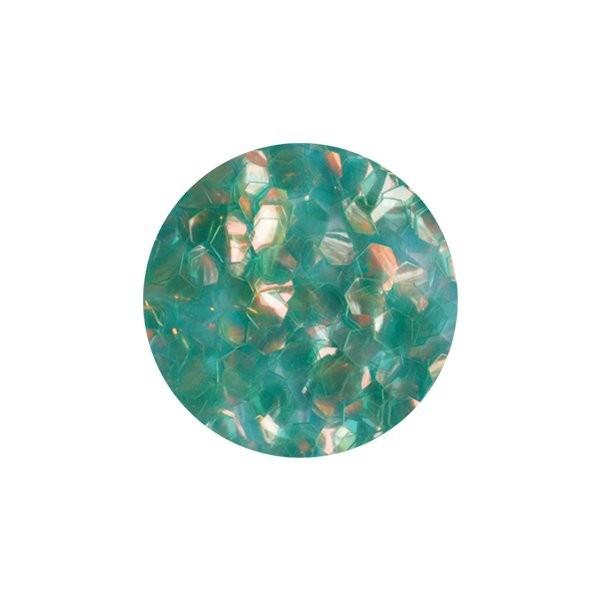 mermaid scale flitter green l