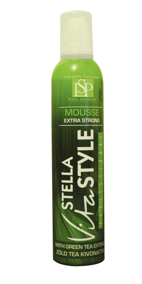 spuma modelatoare cu extract de ceai verde 300ml lady stella