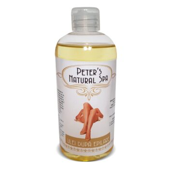 ulei calmant dupa epilare peters natural spa 500 ml