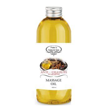 ulei de masaj anticelulitic cu efect de incalzire 1l
