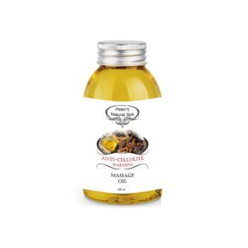 ulei de masaj anticelulitic cu efect de incalzire 250ml