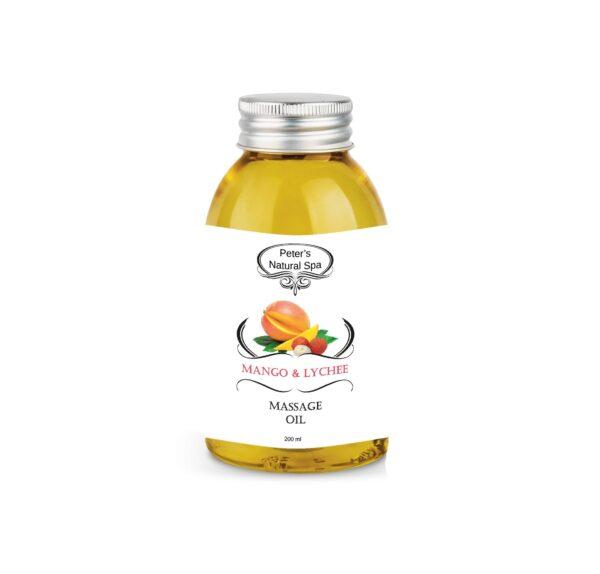 ulei de masaj mango lychee 200ml