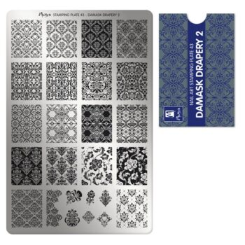 M3 01 00 00 0043 Stamping Plate 043 Damask drapery 2 600x600 1