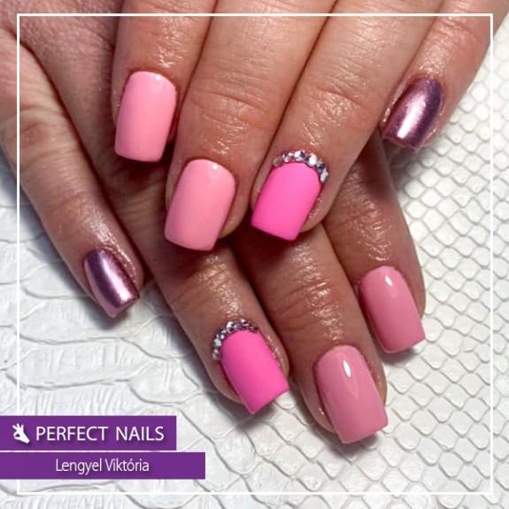 PNZM191 lacgel flamingo pink nr.7
