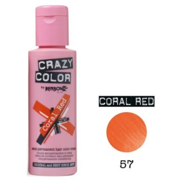 crazy color coral red 57 100ml