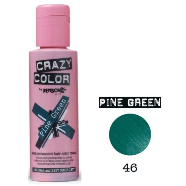 crazy color pine green 46 100ml