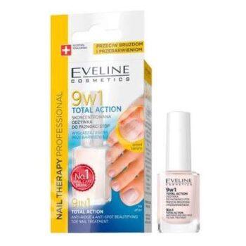 tratament pentru unghiile piciorului 9 in 1 total action 12 ml eveline cosmetics 10060110