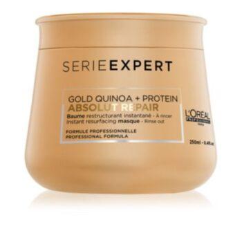 loreal professionnel serie expert absolut repair gold quinoa protein masque regenerateur intense pour cheveux tres abimes 4