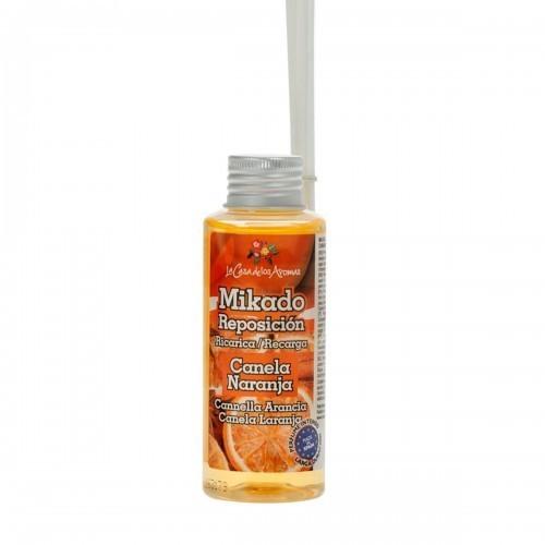 odorizant cu betisoare mikado scortisoara si portocala 100 ml
