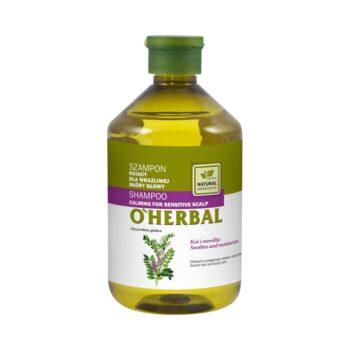 oherbal szampon kojacy z ekstraktem z lukrecji dla wrazliwej skory glowy